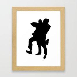 hugs Framed Art Print