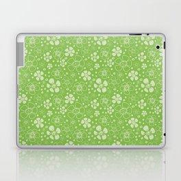 Sweet Green Floral Laptop & iPad Skin