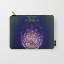 Fractal Storm Carry-All Pouch