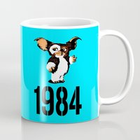 "1984 Mugs featuring ""Mourning My Youth"" Series 