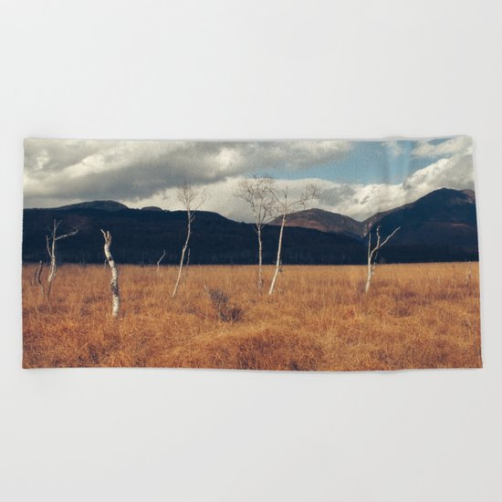 nature love Beach Towel