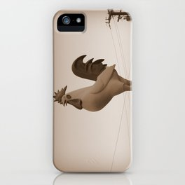 Giant Rooster iPhone Case