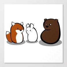 Animal Marshmallow Canvas Print