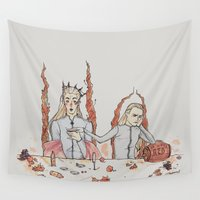 hobbit Wall Tapestries featuring [ The Hobbit ] King Thranduil Legolas Greenleaf by Vyles