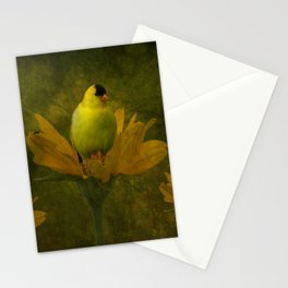 A Family of Goldfinch Stationery Cards