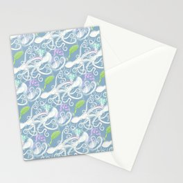 octopus pattern Stationery Cards