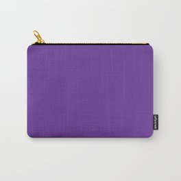 Rebecca Purple - solid color Carry-All Pouch