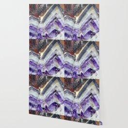 Amethyst Mountain Quartz Wallpaper