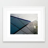 aviation Framed Art Prints featuring Aviation by Paper Possible