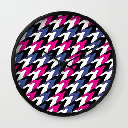 flock Wall Clock