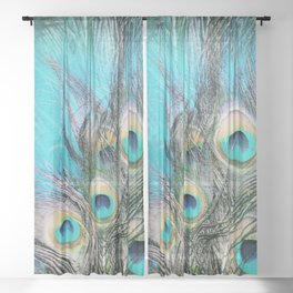 Blue Eyes Sheer Curtain