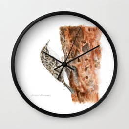 Little Creeper by Teresa Thompson Wall Clock