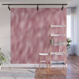 Mottled Blush Foil Wall Mural