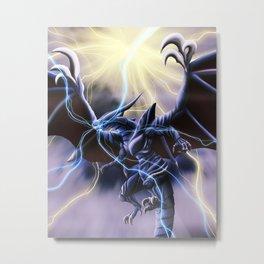 King of Dragons Metal Print