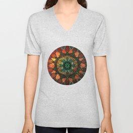 Sun Mandala Unisex V-Neck