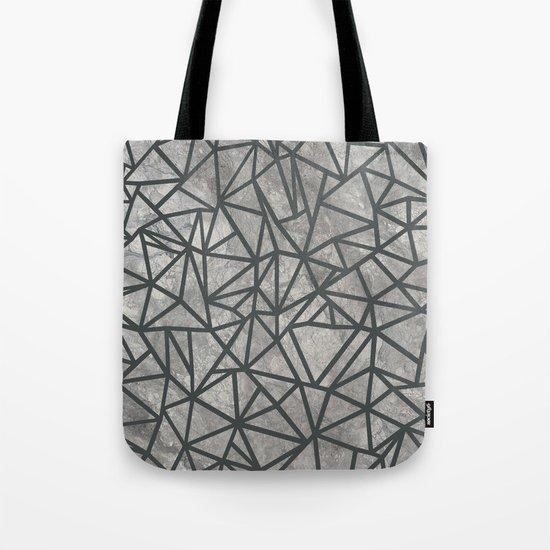 Ab Marb Grey 2 Tote Bag