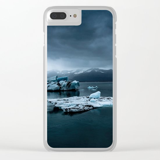 Banquise Clear iPhone Case