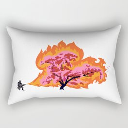 Allergy Season: Flamethrower Rectangular Pillow