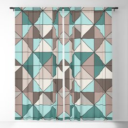 Triangle №1 Blackout Curtain