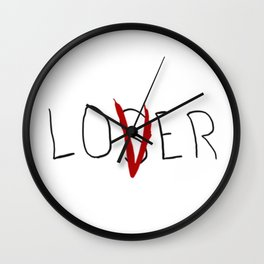 lo(v)er Wall Clock