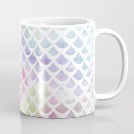 Watercolor fish scale pattern Coffee Mug