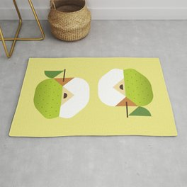 Fruit: Apple Golden Delicious Rug