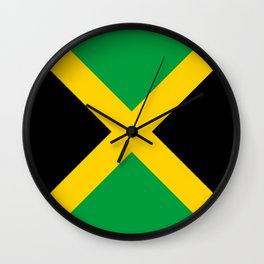 Flag of Jamaica Wall Clock