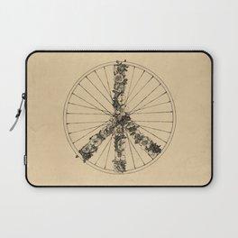 Peace & Bike (Lines) Laptop Sleeve