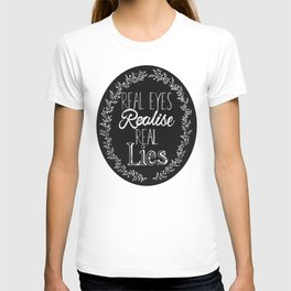 Real Lies T-shirt