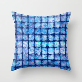 Frozen Glass Throw Pillow