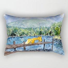 Volpe a Flims Rectangular Pillow