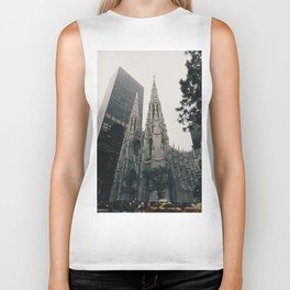 Cathedral NYC Biker Tank
