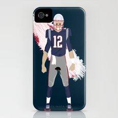 Pats - Tom Brady iPhone (4, 4s) Slim Case