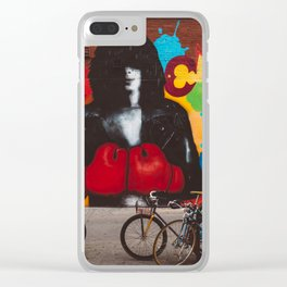 East Village XI Clear iPhone Case