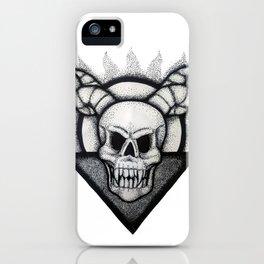 Demon Skull iPhone Case