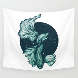 The Splendid Green Waters Wall Tapestry