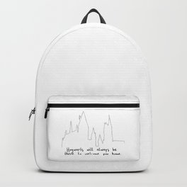 Hogwart will always be there to welcome you home! Backpack