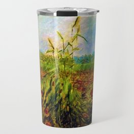 Red Poppies by Vincent van Gogh Travel Mug