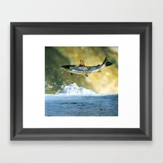 Search for delicious ...(2012) Framed Art Print