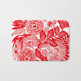 Between Strawberry Fields Bath Mat