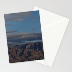 Virgin Mountains in February Stationery Cards