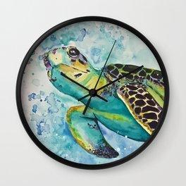 Sea turtle Wall Clock