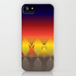 Night Tipi iPhone Case
