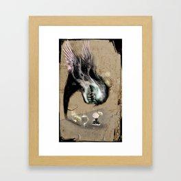 Fishing Hook Framed Art Print