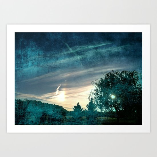 Light as Two Art Print