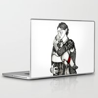 best friends Laptop & iPad Skins featuring Best friends by Anca Chelaru
