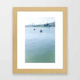 San Francisco Marina Framed Art Print