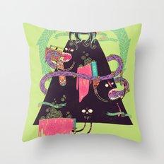 Ourobouros Throw Pillow