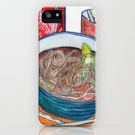 Ode To Pho iPhone Case