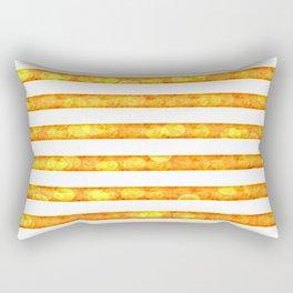 Golden Glitter Girly - Chic Stripes - Duvet Cover - Decor - Tech Rectangular Pillow